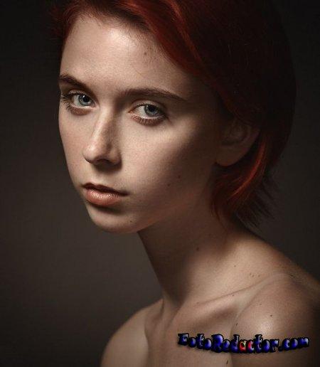 Меняем цвет глаз на портретной фотографии