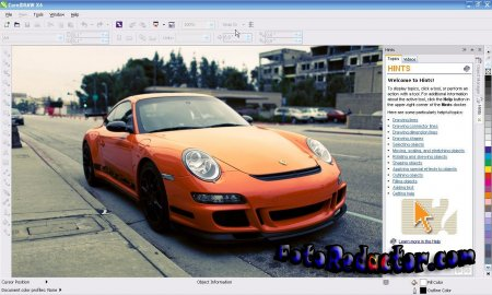 Характеристика нового пакета CorelDRAW Graphics Suite X6