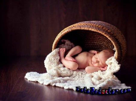 Как интересно и красиво снять новорожденного малыша