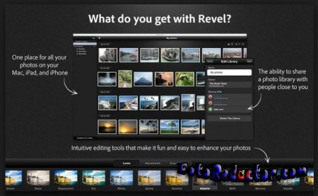 Adobe Revel – фото хранилище