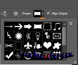 Как нарисовать стрелку в программе фотошоп