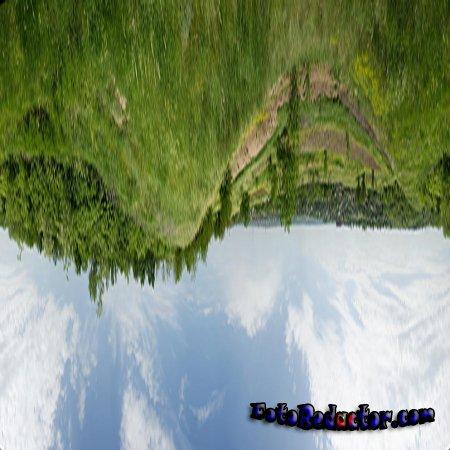Панорама Маленькая Планета в Photoshop