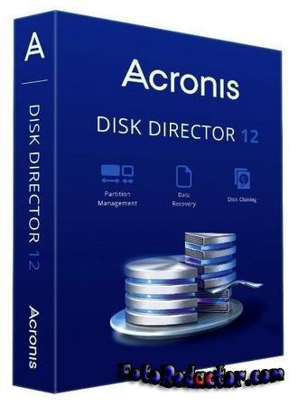 Acronis Disk Director 12 на русском с ключом скачать бесплатно торрентом