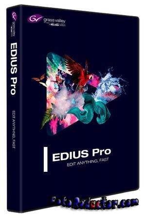 EDIUS Pro 9 (RUS) скачать бесплатно торрентом версию на русском