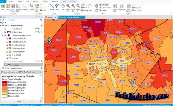 MapInfo Professional v.17.0 (RUS) x32-64 bit