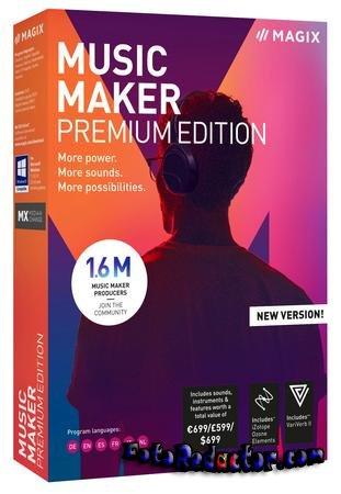 MAGIX Music Maker 2019 (русская версия) - скачать бесплатно торрентом
