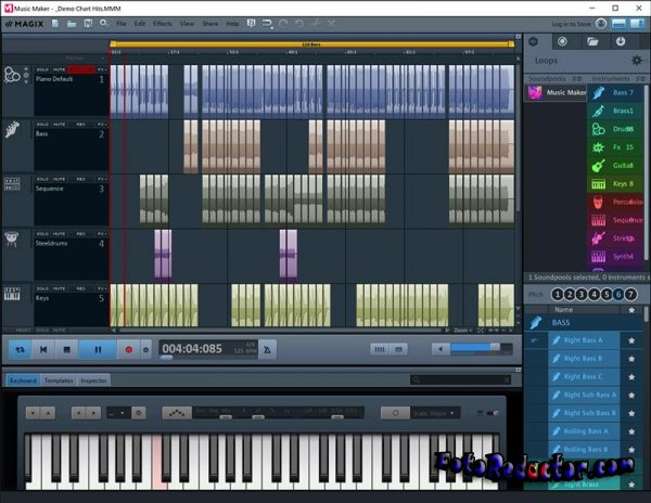 MAGIX Music Maker 2019 Premium Edition (RUS)