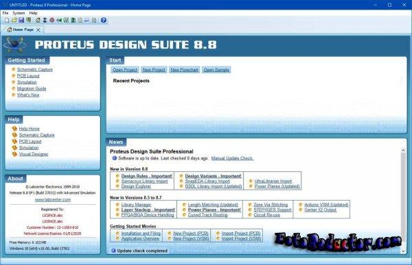 Proteus v.8.8 Professional (SP1|RUS)