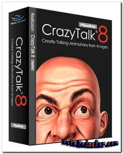 CrazyTalk Pipeline 8 (русская версия с кряком) скачать бесплатно торрент
