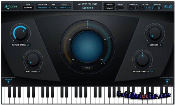 Antares Auto-Tune v.9.1.0.5 Pro [VST/VST3/AAX] x64 bit