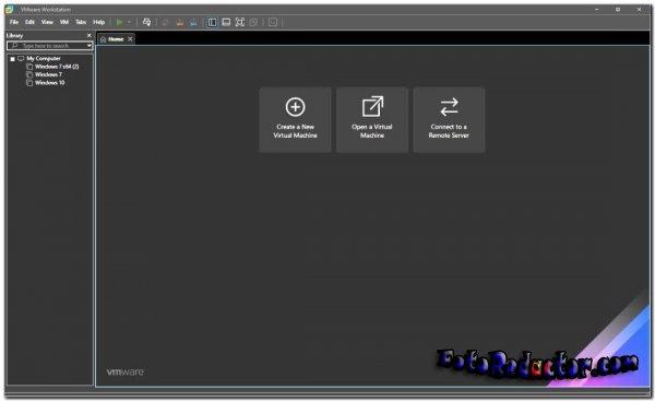 VMware Workstation v.16.1 Pro (RUS) 2021
