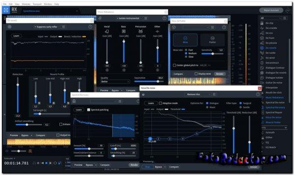 iZotope RX v.8.1.0.544 Audio Editor Advanced (STANDALONE/VST/VST3/AAX) - x64 bit