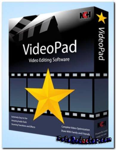 Скачать VideoPad Video Editor 6 Pro (крякнутая русская версия) бесплатно торрентом