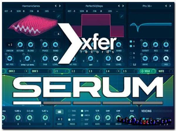 Скачать Serum 1.309 (крякнутый) бесплатно торрентом