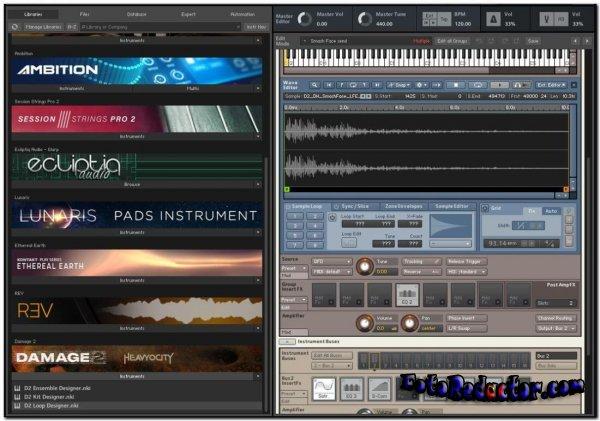 Native Instruments Kontakt v.6.5.2 (STANDALONE/VSTi/AAX) x32-x64 bit