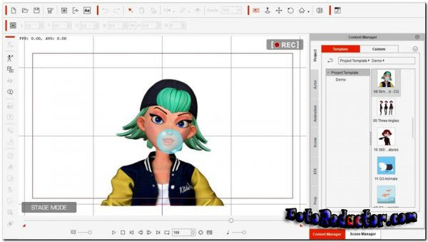 Reallusion Cartoon Animator v.4.41 (RUS) 2021