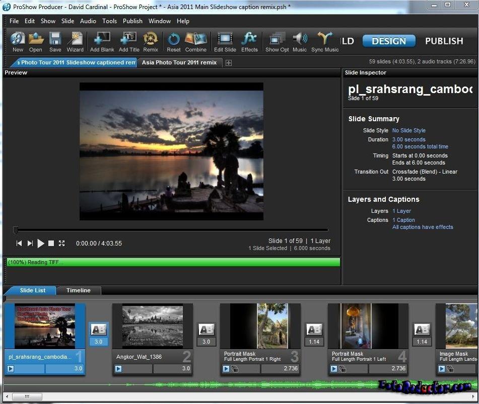 Программа Photodex ProShow Producer 6 Rus + Ключ
