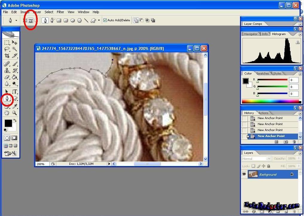 Как онлайн фотошоп сделать фон прозрачным